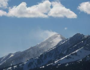 Strong Wind in the Bridgers Nov. 12th