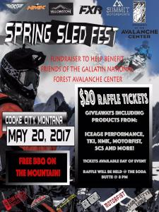 Spring Sled Fest in Cooke City