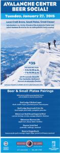 Avalanche Center Beer Social