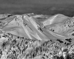 Crown Butte Natural Avalanches