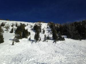 Avalanche in Beehive - Jan 15
