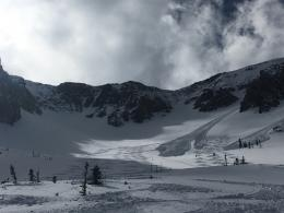 Loose snow avalanches, N. Bridgers
