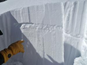 Buried Surface Hoar Lionhead