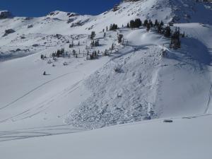 Avalanche at Lionhead