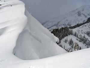 Barronette Avalanche on Surface Hoar
