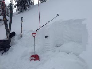 Middle Basin snowpack