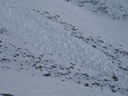 Hardscrabble Avalanche Debris