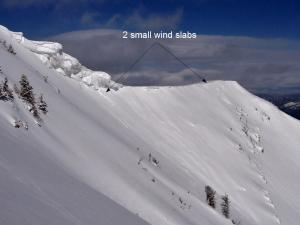 Small wind slabs