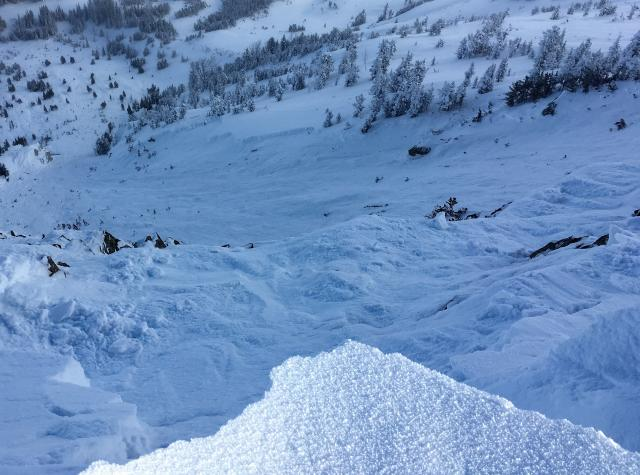 Yellowstone Club Avalanche - 12/8/16