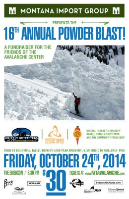 16th Annual Powder Blast 2014