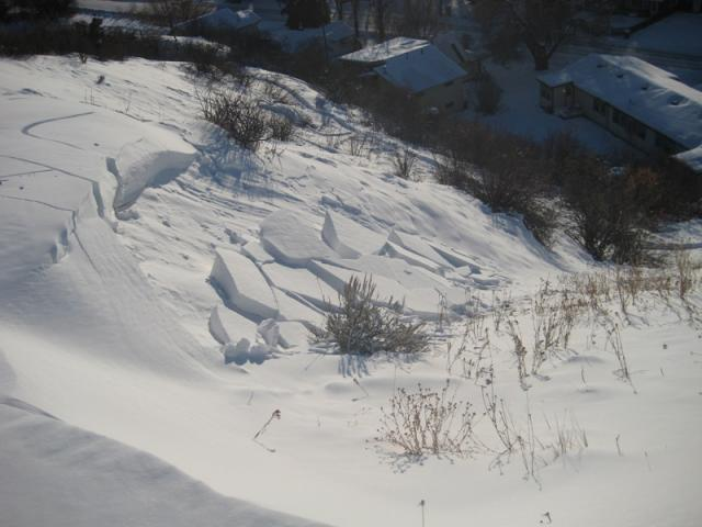 Pete's Hill Avalanche