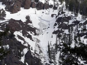 Cooke City area wet slab avalanches_2