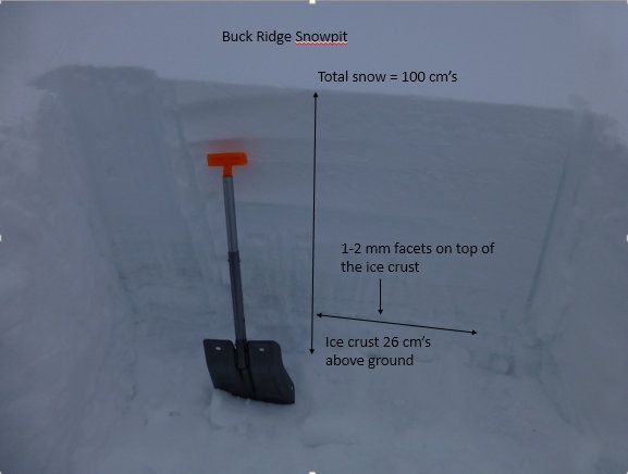 Buck Ridge Snowpit